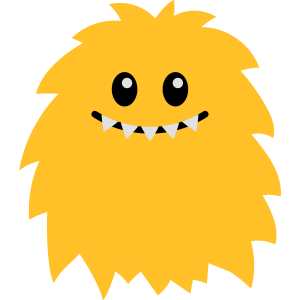 Monster emoji