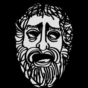 Griechische Maske