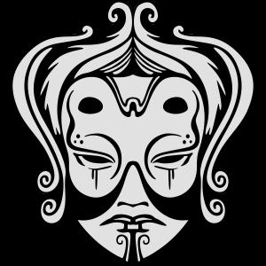Asiatische Maske