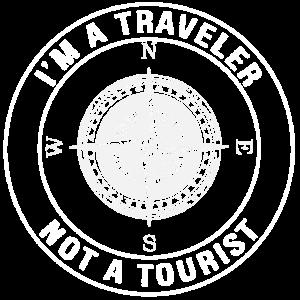Ich bin ein Reisender, kein Tourist