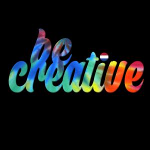 Seien Sie kreativ T-Shirt