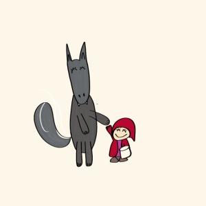 Le loup et le petit chaperon rouge