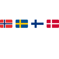 UNITED COLORS OF SCANDINAVIA white-lettered
