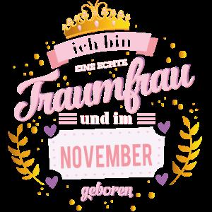 November Traumfrau