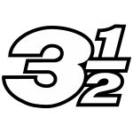 Three and a Half Logo