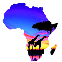 Afrika liebe - Karte