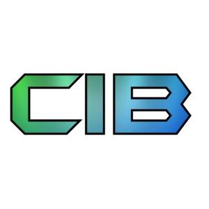 CuzImBacon Grønn og Blå logo