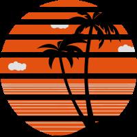 Palmen Urlaub Meer Strand 04