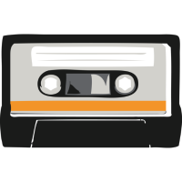 kasette - gelb