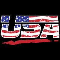 USA Flagge! Amerika! US! Patriot!