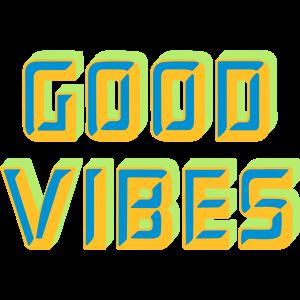 Gute vibes wortkunst