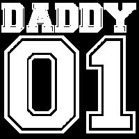 Daddy 01 - Bester Papa Weihnachten Geschenk Vater