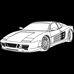 cool car white