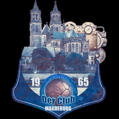 magdeburg an der elbe - +++ - weiß,fcm,blau,Ost,Fußball,Dom,DDR,3.liga,3 liga