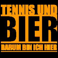 Tennis und Bier