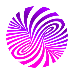 psychedelic illusion Disco 60er tornado