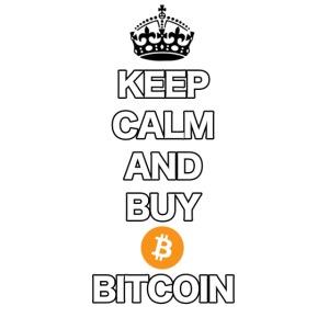 Bitcoin Keep Calm T-Shirt