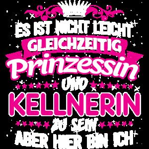 KELLNERIN - gleichzeitig Prinzessin