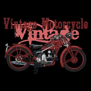 Retro Motorrad
