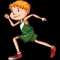Kind läuft