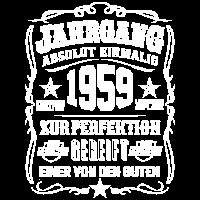 Jahrgang 1959 Geschenk 60. Geburtstag 60 jahre