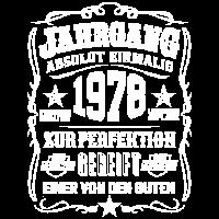 Jahrgang 1978 Geschenk 41. Geburtstag 41 jahre