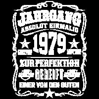 Jahrgang 1979 Geschenk 40. Geburtstag 40 jahre