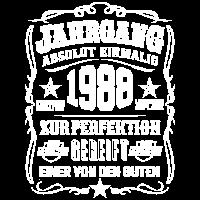Jahrgang 1988 Geschenk 31. Geburtstag 31 jahre
