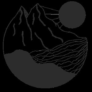 Berg im Wasser