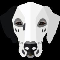 Tiere vectorstock 5433709 Hundegesicht 012