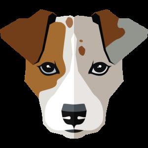 Tiere vectorstock 5433709 Hundegesicht