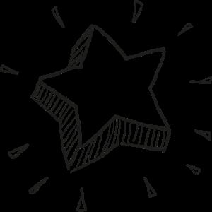 Gekrümmter Stern