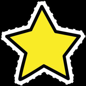Sternaufkleber