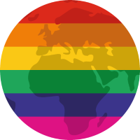 Regenbogen Erde