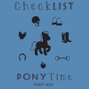 Poney - CheckList