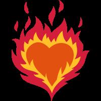 Brennendes Herz