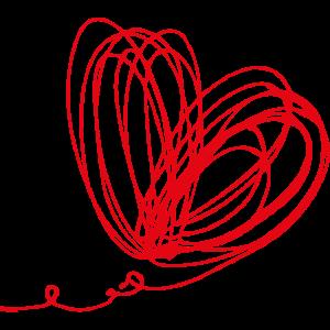 Skizze Herz