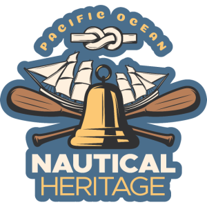 Pazifisches Ozean-Logo
