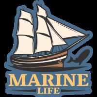 Marine leben logo