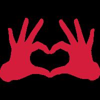 Hände Herz