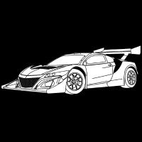 Concept Car White