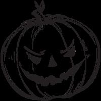 Halloween Kürbis