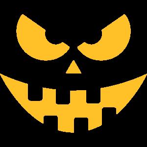 Halloween Kürbis Gesicht