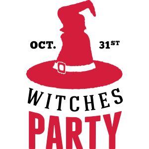 Hexe-Party Einladung