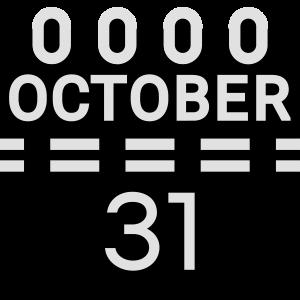 31. Oktober