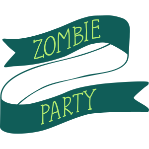 Zombie-Party-Banner
