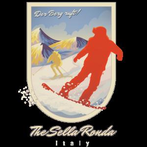 Die Sella Ronda, Italien