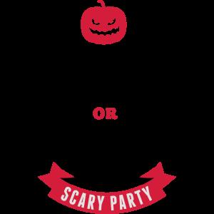 Halloween-Partyeinladung