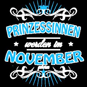 Prinzessinnen werden im November geboren