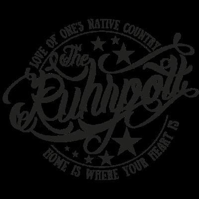 The Ruhrpott black - Love of one`s native country - Witten,Ruhrpott,Ruhrgebiet,Liebe ist wo das Herz ist,Liebe,Liebe,Herne,Heimatliebe,Heimat,Gelsenkirchen,Essen,Duisburg,Castrop,Bochum